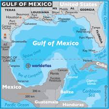 map of mexuco gulf of mexico map mexico maps gulf of mexico facts location