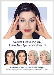 best short haircuts for turkey neck amazon com instant face neck and eye lift dark and light hair