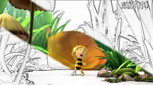 maya bee movie amazing coloring book kids