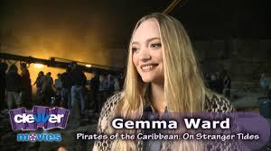 gemma ward u0027pirates of the caribbean on stranger tides u0027 interview