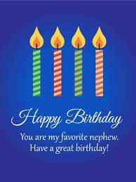 to my favorite nephew birthday card birthday u0026 greeting cards