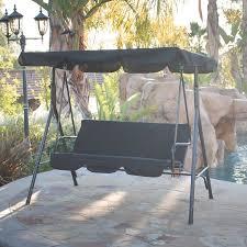 outdoors wonderful wooden garden swing seat wicker swing with