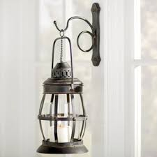 Lantern Wall Sconce Indoor Lantern Sconce Wayfair