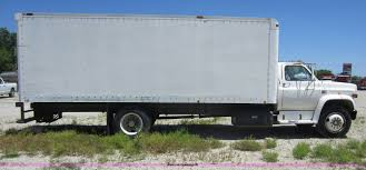 1986 gmc 7000 box truck item d5516 sold may 31 construc