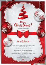 21 christmas invitation templates u2013 free sample example format