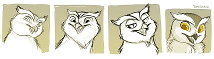 owl sketches by silverdeni on deviantart