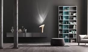 appealing black wall units for living room including floating