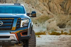 nissan truck 2016 interior naias 2016 nissan titan warrior ready for off road attack