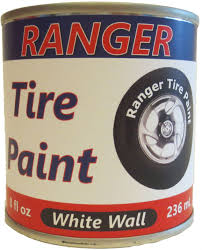White Wall Paint by White Sidewalls Ranger Tire Paint