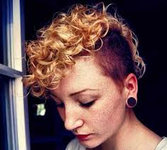 curly shaved side hair shaved pixie haircuts jpg 500 451 short hair pinterest