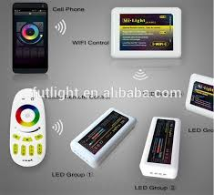 rgb led light controller factory price rgb w color changing smart controller wifi 6a channel