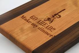 funny cutting boards handcrafted wood cutting board paddle board cherry laser