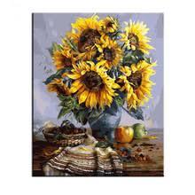 Sunflower Home Decor Paint Sunflower Promotion Shop For Promotional Paint Sunflower On