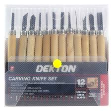 dekton 12pc carving knife set tools www bprtrading co uk