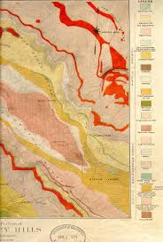 Berkeley Map Berkeley Hills Geologic Map
