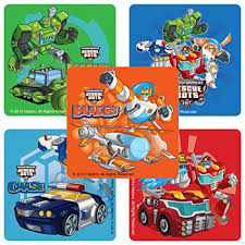 transformers rescue bots party supplies transformers rescue bots stickers birthday and theme