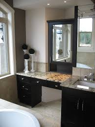 bathrooms design amusing bathroom vanity with makeup counter on