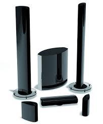 audi ca audica cx system 3 gloss black 5 1 speaker package speaker