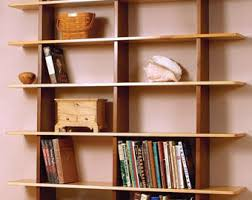 Bookshelves Woodworking Plans by Bookcase Etsy