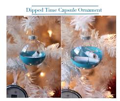 a list of diy ornaments time capsule ornament felt