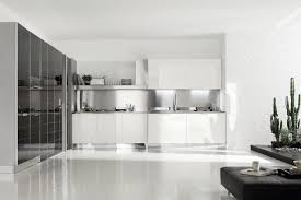 contemporary kitchen glass lacquered high gloss brillant