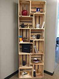 Crates For Bookshelves - best 25 small wooden crates ideas on pinterest diy clothes