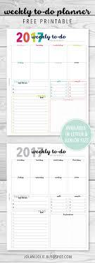 best free printable weekly planner best of free weekly planner printables downloadtarget