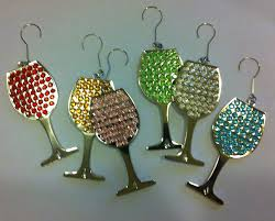 wine glass ornament rex family wineries