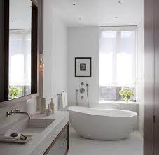bathroom decors brown bathtub flooring corner man large home