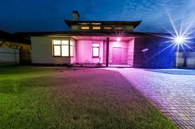 programmable led flood lights ilumi s br30 outdoor will bring programmable lighting to your yard