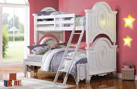 white bunk bed with trundle stair perfect white bunk bed with