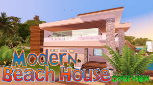 the sims 3 modern beach house youtube