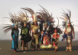 imagenes de familias aztecas danza azteca siembra semillas de cultura