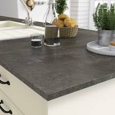 plan de travail cuisine stratifié leroy merlin plan de travail stratifié noir mat l 315 x p 65 cm ep 16 mm