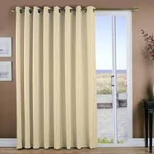 Patio Door Thermal Blackout Curtain Panel Ricardo Trading Grasscloth Grommet Patio Thermal Blackout Single