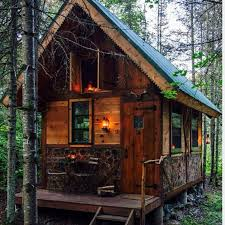 Small Log Cabin Interiors The Top 10 Log Cabins 5 Small And Rustic The Log Builders