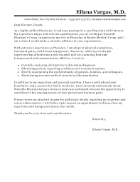 Examples Of Application Letter And Resume by Best Doctor Cover Letter Examples Livecareer