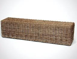 rattan bench seat small size of rattan garden storage box bench