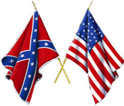 Flag Confederate Death Of History Pinned To Top On The North River