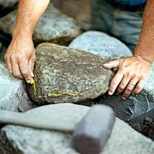 How To Build A Stone by A J Brauer Stone How To Build A Stone Wall A J Brauer Stone
