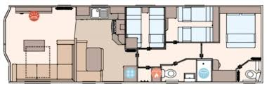 Caravan Floor Plans New 2017 Abi Blenheim Static Caravan Holiday Home