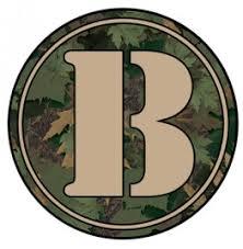 Monogram Letter B Plotted And Weeded Letter B Monogram Tumbler Decal U003e Tumbler