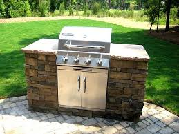 Backyard Grille Outdoor Grill Surround Chloe Couldn