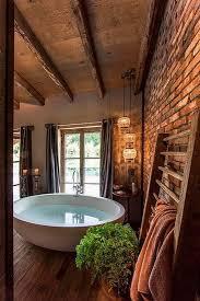 Rustic Bathrooms Designs - 33 bathroom designs with brick wall tiles home ideas