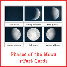 phases of the moon printables gift of curiosity