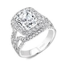engagement rings cushion cut cushion cut diamond pave halo engagement ring sissy s log