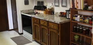 update an old kitchen budget kitchen countertop and cabinet update today s homeowner
