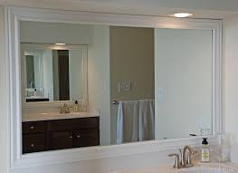 Bathroom Mirror Molding Frame Bathroom Mirror Style Top Bathroom Choose A Frame