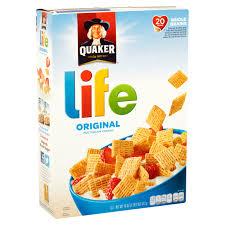 Breakfast Food Cereal Walmart Com by Quaker Life Multigrain Cereal Original 18 Oz Box Walmart Com