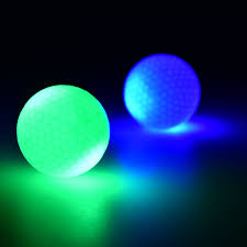light up golf balls led electronic color changing golf balls in dark practice training